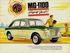 MG 1100 Saloon Mk1 1966-67 UK Market Sales Brochure