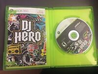 DJ Hero Microsoft Xbox 360 2009 w/ Manual & Box 93 Original Mixes