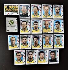 Panini FIFA World Cup Germany 2006 Complete Team Australia + Foil Badge