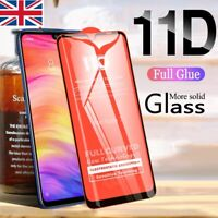 Samsung Galaxy A50 2019 Curved Tempered Glass Gorilla Screen Protector Cover