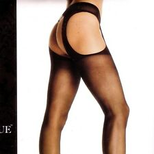 PLUS SIZE  SHEER GARTER SUSPENDER PANTYHOSE BY LEG AVENUE NEW IN BAG