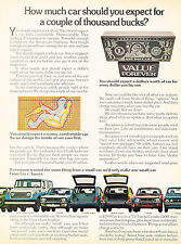 1973 Toyota Corolla Celica Corona - Vintage Advertisement Car Print Ad J376