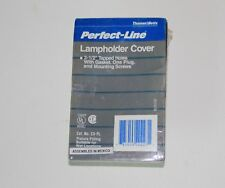 Perfect-Line Lampholder Gray Cover, Cat. No C3-PL  Thomas & Betts - New