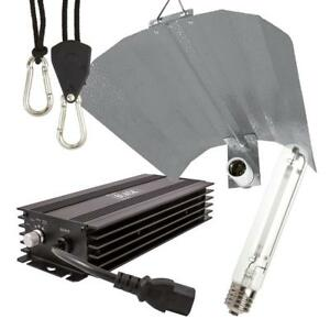 Lumii Black Digital Dimmable 600w HPS Grow Light Kit - Ballast, Bulb, Reflector