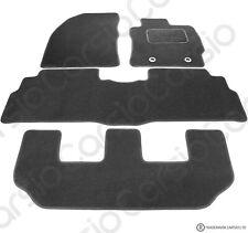 Toyota Verso 2011+ Onwards (7 seater) Tailored Black Car Floor Mats Carpets