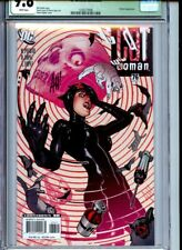 Catwoman #76 CGC 9.8 Adam Huges Sig (unverified) Skull Cover