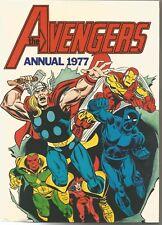 AVENGERS #1977 UK ANNUAL HC (1977) Back Issue (S)