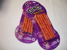 New! Dingo Munchy Stix Dog Bones Dog Bones Dog Treats Food 2 Packs 10 per Pack