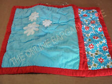 Pottery Barn Pinwheel Floral Baby Kids Bed Pillow Sham Red White Blue Floral New