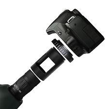 T T2 Lens Adapter Ring for Olympus SLR Cameras + 42mm Spotting Scope Mount Tube