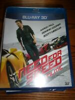 NEED FOR SPEED OFILITIE-  BLU-RAY 3D -   NEW AND SEALED!!