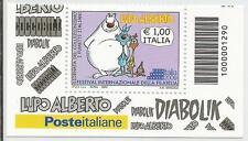 REPUBBLICA ITALIANA - 2009 Lupo Alberto con codice a barre 1290