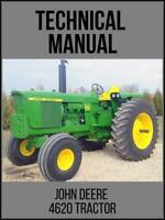 John Deere 4620 Tractor Technical Manual TM1030 On USB Drive