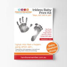 Baby Inkless Print Kit - Newborn Hand & Footprint keepsake