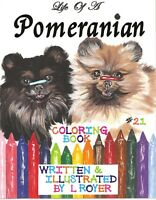 BOXER DOG /& FRIENDS ART COLORING BOOK BY L ROYER  AUTOGRAPHED #65 BRAND NEW