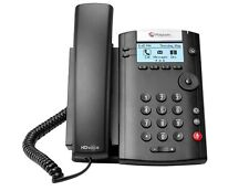 Polycom VVX 201 Business Media Phone telefono fisso IP 2 linee LED nero cornetta