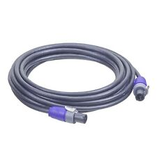 10 Gauge - 25FT - Neutrik NL2FX - Speakon to Speakon Cable