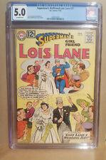 Superman's Girlfriend Lois Lane #37 CGC 5.0 - off white - 2092012024 - 1962