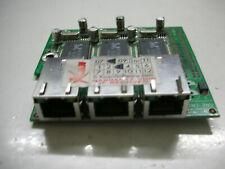 Jetway Adattatore Board 3x lan 10/100 ad3rtlanp-LF RTL8100C RJ45 scheda add on