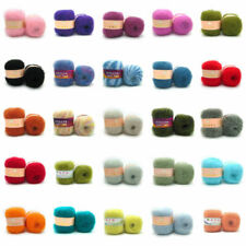 Luxury Angola Mohair Cashmere Wool Yarn Skein Lot Fine 47 Colors Wholesale
