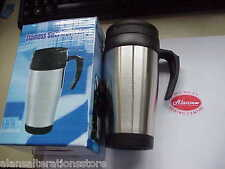 Stainless Steel Insulated Travel Mug Great for the car  / sewing room / garage