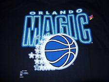 1990s ORLANDO MAGIC BASKETBALL T-SHIRT XXL BLACK NEW