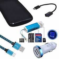 OTG USB Cable Card Reader Sleeve Bag Cover for Samsung Galaxy Note 8 S9 S8 S10+