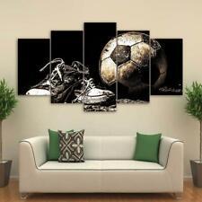 Sport Football Sneakers HD 5 piece Art Poster Wall Home Decor Canvas Print