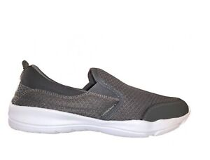 LUMBERJACK Agatha SMA9402 Mocassin Slipon sneakers Mousse à Mémoire Gris