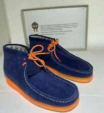 MF DOOM Navy/Orange Clarks Wallabee Size 10 New in Box