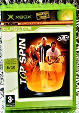 XBOX TOP SPIN COMPUTER GAMES RARE  Complete Retro Rare GAME PAL