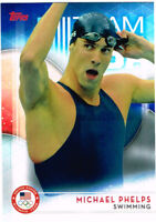 2016 Michael Phelps Topps Olympics Swimming Card #1