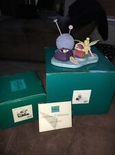 WDCC Peter Pan - Tinkerbell Little Charmer Figurine + Base - Walt Disney LE COA