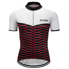 Men Cycling Jersey Bicycle Bike Riding Women Man Breathable Shirts Red Color