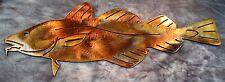 Atlantic Cod Fish Metal Wall Art