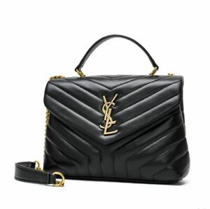 Yves Saint Laurent Women's Cross Body Luxury Handbag with Chain Strap