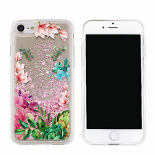 ^ FUN CASE 3D Mirror Spiegel Glitzer Schale Flower 2 Apple iPhone 7 4,7 Plus