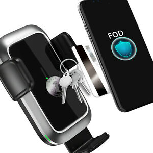 Practical Intelligent Wireless Car Charger Car Mount Fast-Charging Pallet Phone