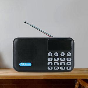 DAB DAB+ Digital Radio Portable Pocket Bluetooth Speaker FM TF USB battery