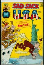Harvey Comics SAD SACK U.S.A. #1 VG 4.0