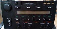 92-96 LEXUS ES300 AM / FM RADIO CASSETTE PLAYER 86120-33021 - 1992 1993 1994