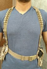 Double gun  tokerev/9mm Parachute cloth waist coat Holster of supreme quality