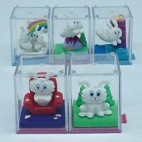 Thunder Bunny Mini Figure Complete Set Rodney Alan Greenblat BANDAI JAPAN 1998