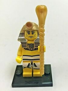 Genuine LEGO Collectible Minifigure - Ser 2 - Pharaoh - Complete - col032