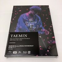 TAEMIN THE 1st STAGE NIPPON BUDOKAN First Limited Edition Blu-ray JAPAN