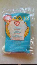 McDonalds ~ 1999 Teenie Beanie Babies ~ NEON ~ Factory Sealed Bag~FREE SHIPPING!