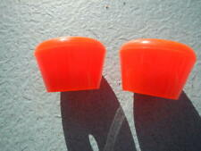 Pair of Quad Roller Skates Large Bell Screw-in Non-Adjustable Toe Stops Stoppers