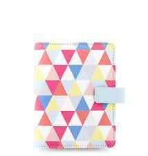 New Filofax Pocket Size Geometric Organiser Planner 2018  Diary  - 027038