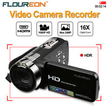 Portable Digital Video Camera Camcorder 270° Rotation 2.7 TFT LCD 1080P 24MP US