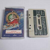 DAVID ESSEX IMPERIAL WIZARD CASSETTE TAPE 1979 GREEN PAPER LABEL MERCURY UK